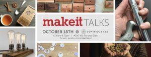 Make It Talks: Holiday Craft Fairs 101 @ Conscious Lab